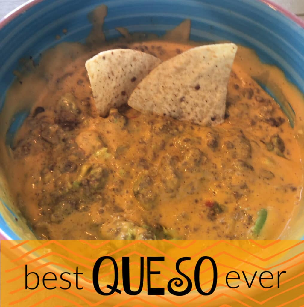 Best Queso Ever in a bowl
