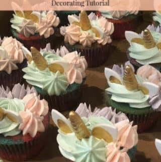 Enchanted Unicorn Cupcake Decorating Tutorial
