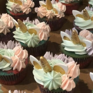 Enchanted Unicorn Cupcakes in a box